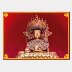 P003 - Postal Jowo Rinpoche Frente