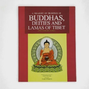 L005 - A Treasury of Drawings of Buddhas, Deities and Lamas of Tibet