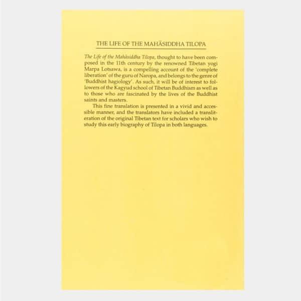 L036 - The Life of the Mahasiddha Tilopa 2