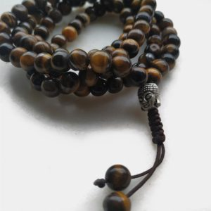 MP001 - Mala Tiger Eye Buda