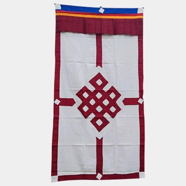 DC001 - Cortina Tibetana Nó da Interdependência Bordeaux