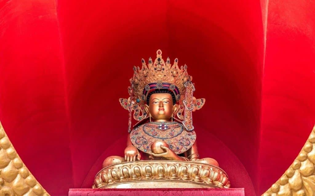 Jowo Rinpoche Stupa Tashi Gomang 2