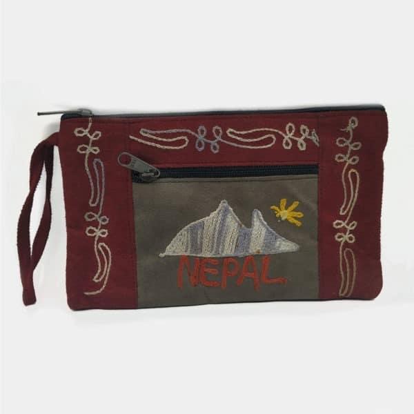RO010 - Estojo Monte Evereste Nepal Bordeaux (1)
