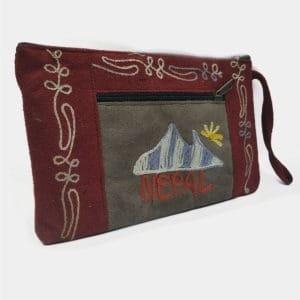 RO010 - Estojo Monte Evereste Nepal Bordeaux